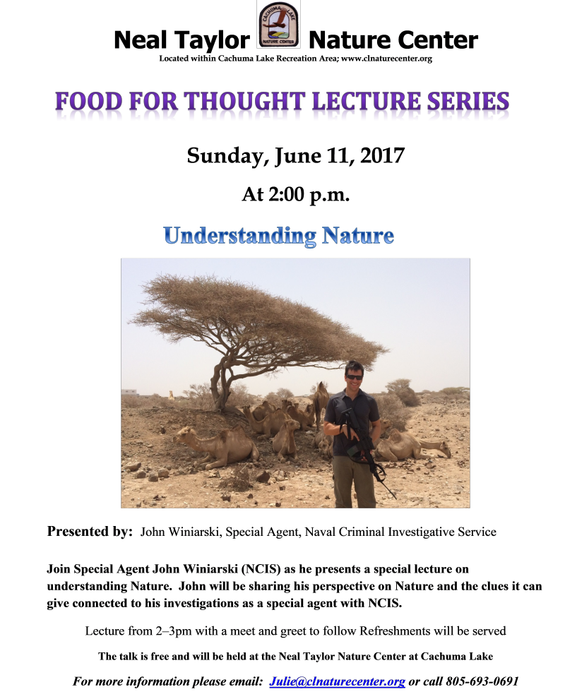 Food for Thought - Understanding Nature